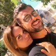 Géraldine Lapalus et son chéri Julien Sassano, en amoureux, sur Instagram, le 30 octobre 2019.