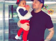 Rob Kardashian, aminci et de retour : Troll rose inquiétant avec sa fille Dream