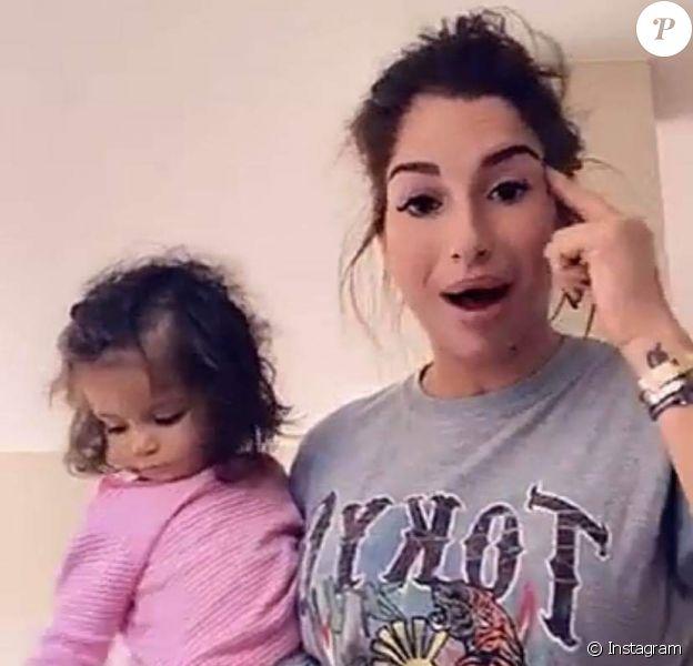 Liam accusée d'être une mauvaise mère par son ex Adel, 5 novembre 2019.