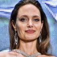 """Angelina Jolie à la première du film """"Maléfique : Le Pouvoir du mal"""" au Roppongi Hills Arena à Tokyo, Japon, le 3 octobre 2019. © Future-Image/Zuma Press/Bestimage © Future-Image/Zuma Press/Bestimage"""
