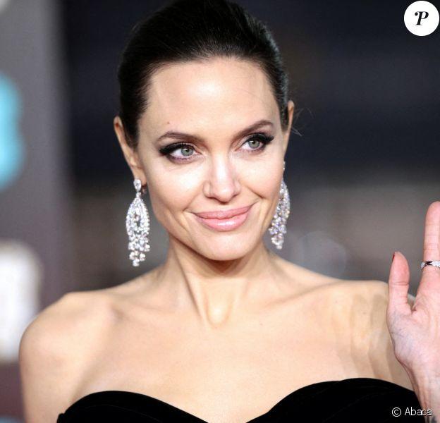 Angelina Jolie à Londres. Le 18 février 2018. @House of Commons/PA Wire