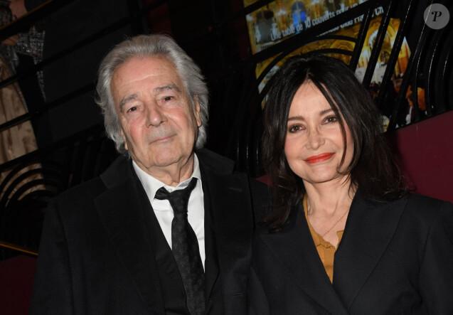 Pierre Arditi et sa femme Evelyne Bouix au 14e Gala de la Fondation pour la recherche sur Alzheimer à l' Olympia à Paris le 18 mars 2019. © Coadic Guirec/Bestimage