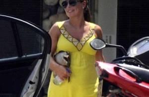 Wayne Rooney et sa charmante femme bien enceinte... vacances à Saint-Trop' mais détour par l'hôpital !
