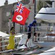 Wayne Rooney et sa femme enceinte vont à l'hôpital de Saint-Tropez
