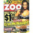 La belle Erin McNaught en couverture de ZOO !