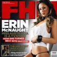 La belle Erin McNaught en couverture de FHM !