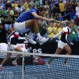 Le capitaine de l'équipe de France, Julien Benneteau - La France bat l'Australie en finale et remporte sa troisième Fed Cup à Perth, le 10 novembre 2019. © Action Plus / Panoramic / Bestimage.