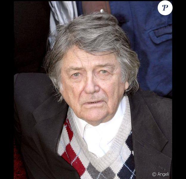 Jean-Pierre Mocky au 25e festival du film policier de Cognac.