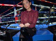 Agathe Auproux sexy en cuissardes face à Tina Kunakey pour une soirée boxe