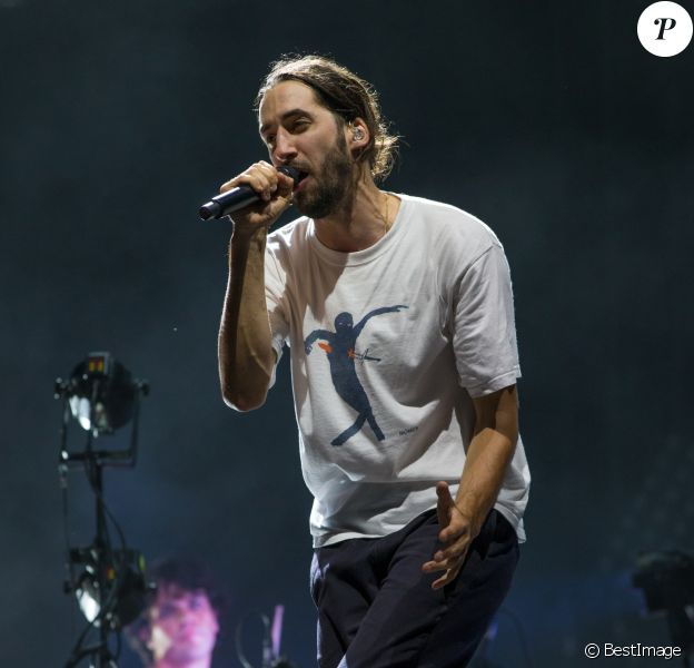 Lomepal en concert au Main Square Festival à Arras. Le 5 juillet 2019
