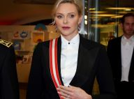 Charlene de Monaco de gala : elle ose le tailleur pantalon face à Caroline