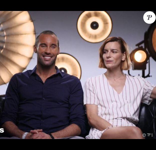 """Sami El Gueddari et Fauve Hautot lors du prime de """"Danse avec les stars 2019"""" du 2 novembre, sur TF1"""
