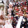 Elsa Dasc le jour de son mariage avec Arthur, le 19 octobre 2019, photo Instagram