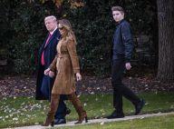 Barron Trump, géant et désabusé : Thanksgiving maussade avec Donald et Melania