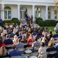 Donald Trump et sa femme Melania fêtent Thanksgiving à la Maison Blanche, Washington, le 26 novembre 2019.