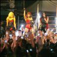 Les Pussycat Dolls en concert à Los Angeles en septembre 2008