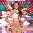 Miss Pays de Loire : Yvana Cartaud - Élection de Miss France 2020 sur TF1, le 14 décembre 2019.