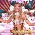 Miss Poitou-Charentes : Andréa Galland - Élection de Miss France 2020 sur TF1, le 14 décembre 2019.