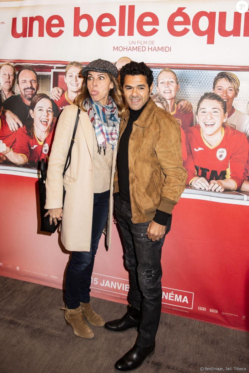"""Mélissa Theuriau et son mari Jamel Debbouze - Avant-première du film """"Une belle équipe"""" à Paris le 3 décembre 2019. © Jack Tribeca/Bestimage"""