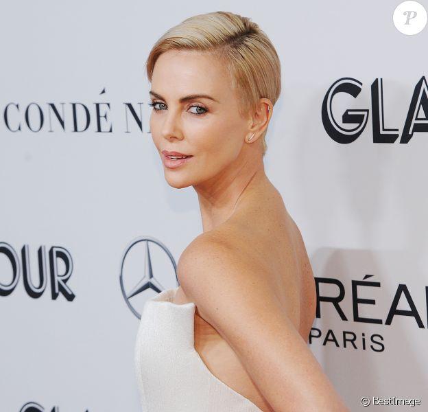 "Charlize Theron - Photocall de la soirée ""Glamour Women of the Year Awards 2019"" à New York. Le 11 novembre 2019"