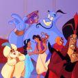 """Image du dessin animé """"Aladdin"""" de Disney."""