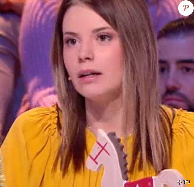 """Camille parle de son combat contre le cancer dans """"Les 12 Coups de midi"""", le 8 décembre 2019, sur TF1"""
