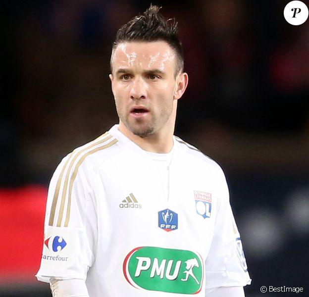 Mathieu Valbuena - Match de coupe de France entre le Psg et Lyon au Parc des Princes à Paris le 10 février 2016.