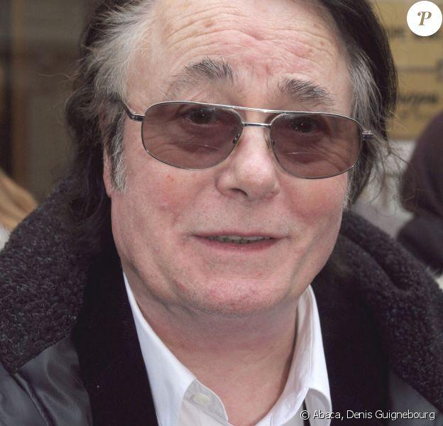Alain Barriere à Paris. Le 23 février 2006. @Denis Guignebourg/ABACAPRESS.COM.