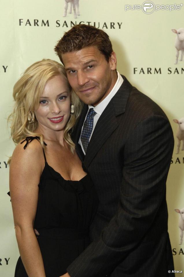 David Boreanaz et son épouse Jaime Bergman