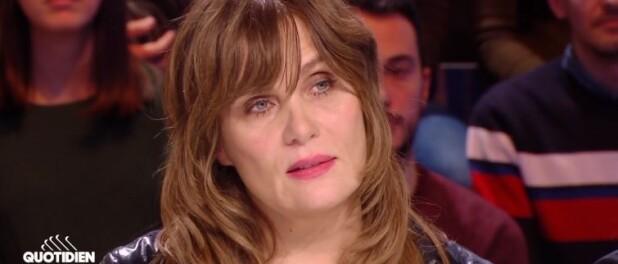 Emmanuelle Seigner : Affectée, elle