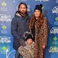 """Tamara Ecclestone avec son mari Jay Rutland et leur fille Sophia à la soirée d'ouverture du parc d'attractions """"Night of Hyde Park Winter Wonderland"""" à Londres, le 21 novembre 2018."""