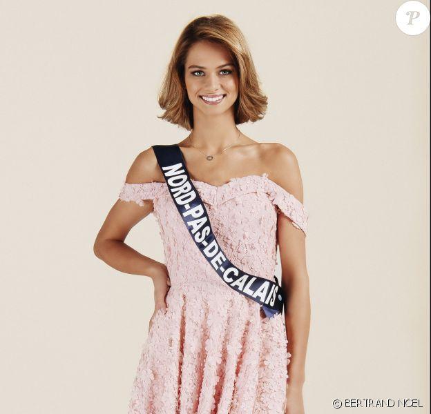 Miss Nord-Pas-de-Calais : Florentine Somers, 19 ans, 1,77 m, actuellement en préparation pour le concours d'éducateur spécialisé.