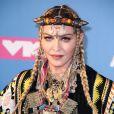 Madonna - Les célébrités assistent aux MTV Video Music Awards à New York, le 20 août 2018.