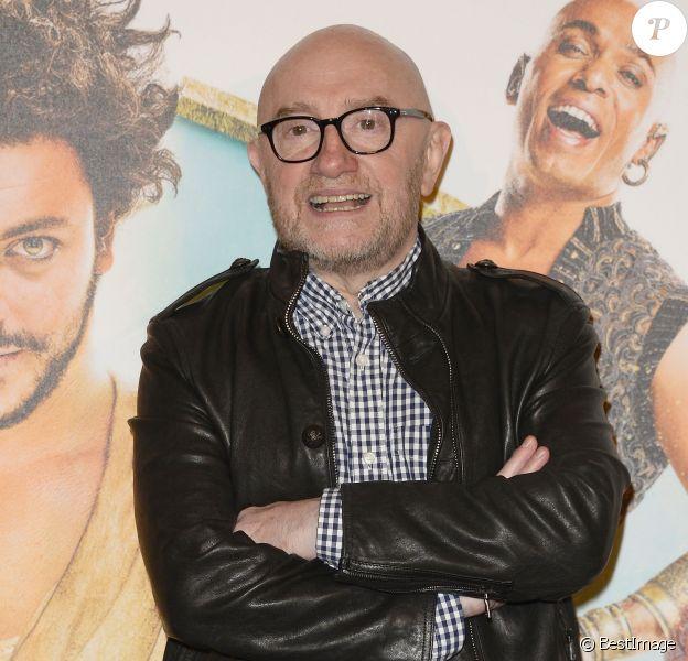 """Michel Blanc - Avant-première du film """"Les Nouvelles Aventures d'Aladin"""" au Grand Rex à Paris, le 6 octobre 2015."""