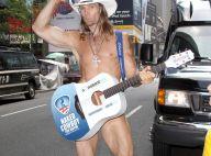 Un candidat illuminé et déshabillé se présente à la mairie de New York !