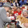 La reine Elizabeth II à la Manitoba Corgi Association au Canada. © Kirsty Wigglesworth/PA/ABACA.