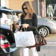 Cindy Crawford et sa fille Kaya Jordan Gerber vont au restaurant à Malibu