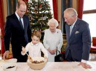 Elizabeth II : Cours de cuisine avec le prince George puis messe dominicale