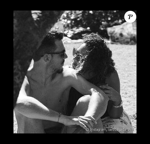 """Laetitia de """"L'amour est dans le pré"""" avec son petit ami, le 28 octobre 2019, sur Instagram"""