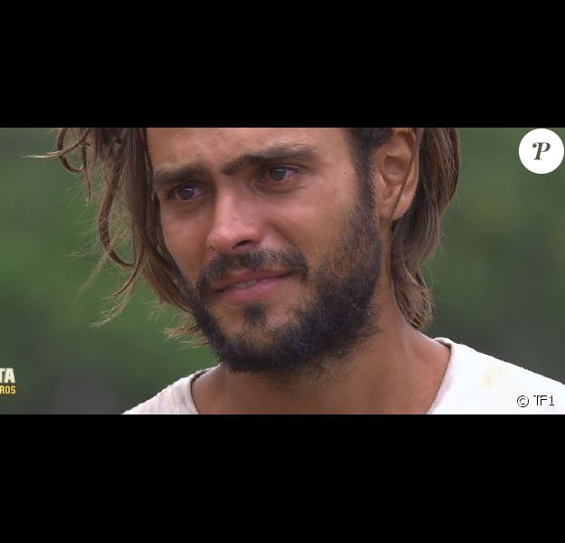 """Jérémy dans """"Koh-Lanta : Le combat des héros"""" (M6) vendredi 18 mai 2018."""