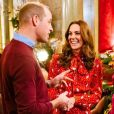 "Kate Middleton et le prince William dans l'émission ""A Berry Royal Christmas"" diffusé sur BBC One le 16 décembre 2019."
