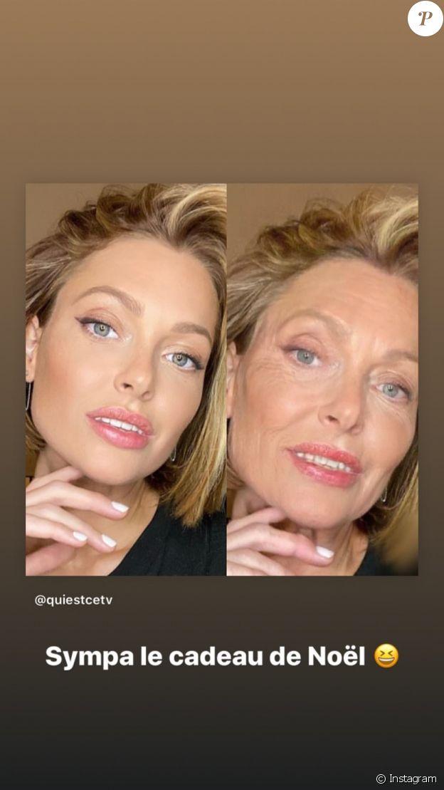 Caroline Receveur le 25 décembre 2019 sur Instagram.
