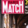 Couverture du magazine Paris Match.