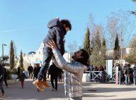 Rachel Legrain-Trapani : Son fils s'éclate dans les bras de son chéri Valentin
