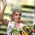 Alexandra Rosenfeld devient Miss France 2006. Cannes. Le 3 décembre 2005.