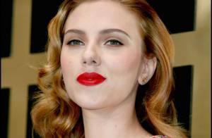 Scarlett Johansson, une icône glamour en plein travail... une étoile à Londres !