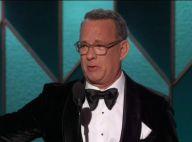 Tom Hanks aux Golden Globes : Très ému devant sa femme et ses quatre enfants