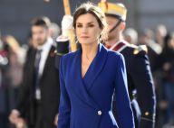 Letizia d'Espagne : Royalement élégante au côté de Felipe pour débuter 2020