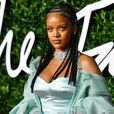 "Rihanna assiste à la cérémonie des ""Fashion Awards 2019"" au Royal Albert Hall à Londres, le 2 décembre 2019."