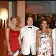 au 61e gala de la Croix Rouge à Monaco